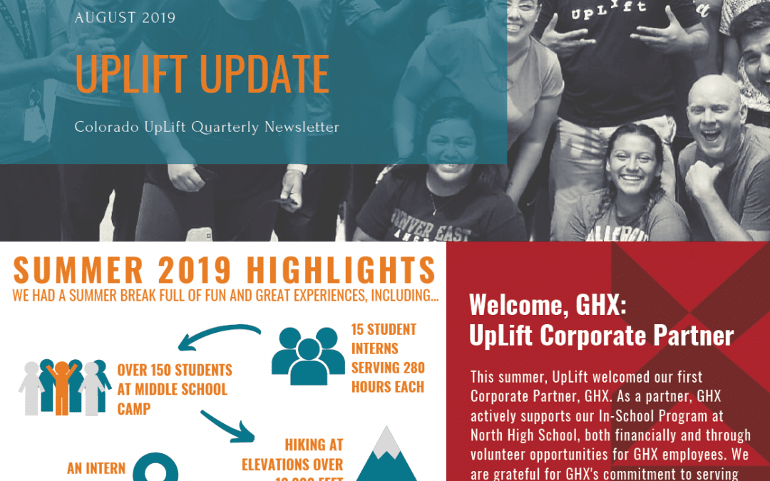 Quarterly Newsletter: August 2019